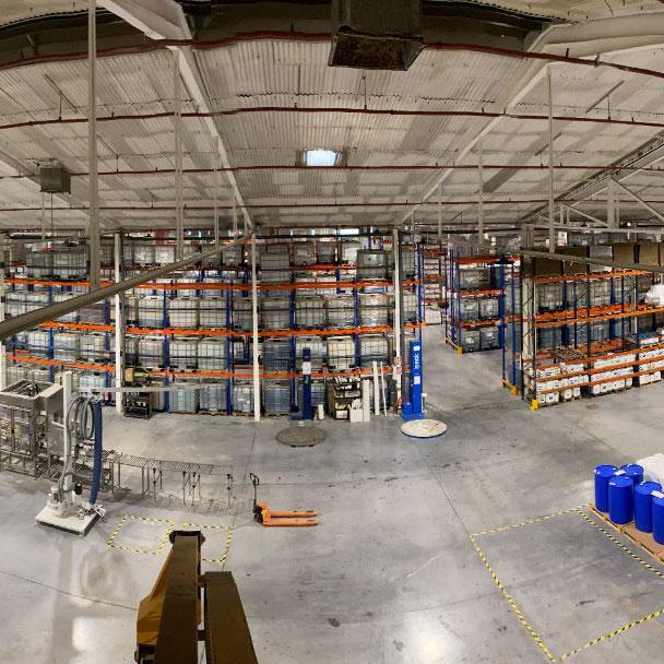 Instalación eléctrica en fábrica